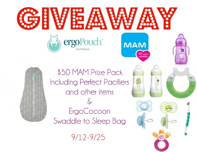 MAM Baby and ErgoCocoon Giveaway!!
