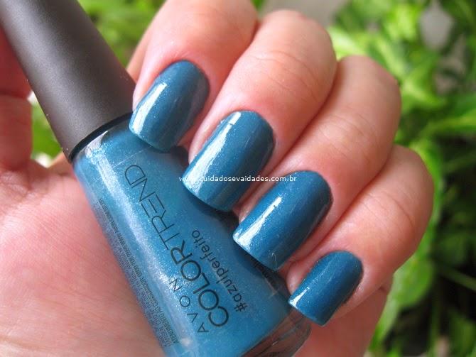 Esmalte Color Trend Avon Azul Perfeito