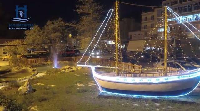 Ηγουμενίτσα: Το λιμάνι φόρεσε τα γιορτινά του (+ΒΙΝΤΕΟ)
