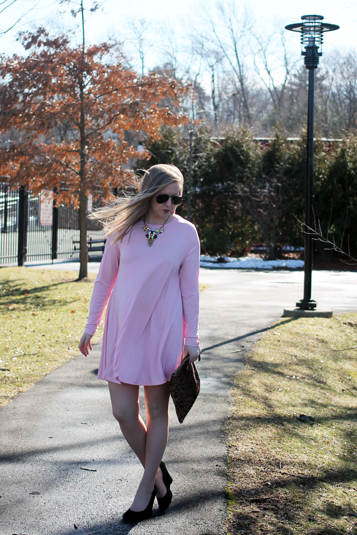 nordstrom glamorous shift dress, nordstrom savvy dress, nordstrom pink dress, pink shift dress, perfect pink dress, boston blogger, boston fashion blogger, boston style blog, style-blueprint blog