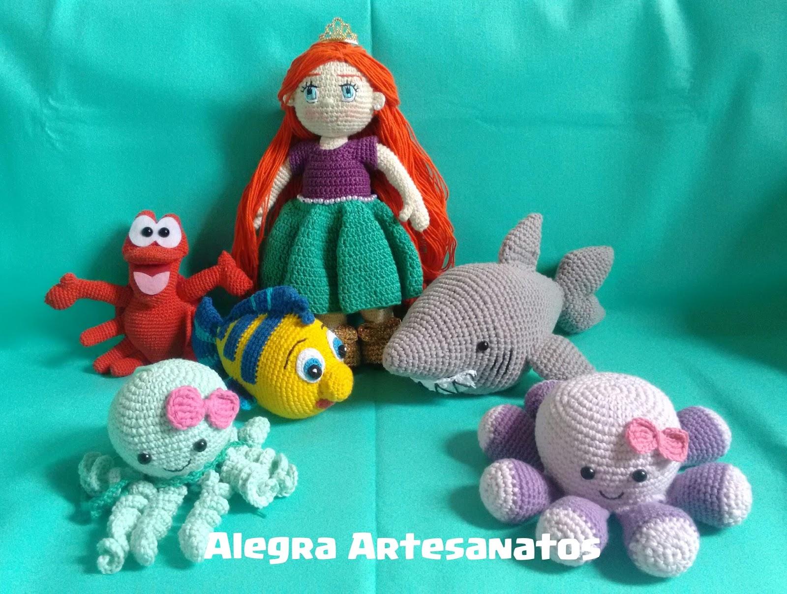 Amigurumi Pequena Sereia 25 Modelos para Inspirar o seu Fundo do ... | 1209x1600