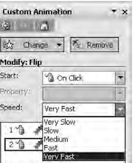 Kotak Dialog Pengaturan Kecepatan