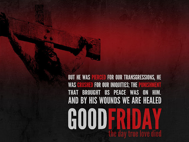 Happy Good Friday Wallpaper with Quotes