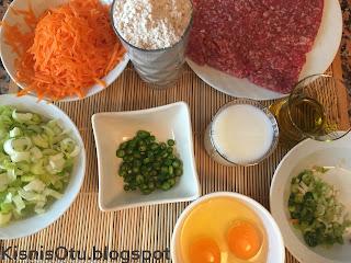 Fırın yemekleri, kıymalı pırasa, tarifi, değişik, sebze, yemek, kişniş otu