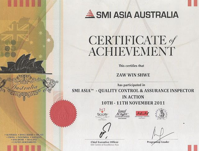 Certificate in Quality Control & Assurance Inspector in Action