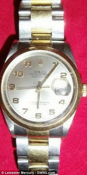 ساعة يد نسائية من طراز رولكس