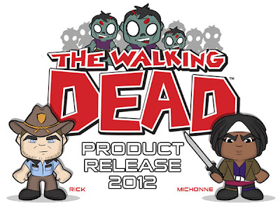 The Walking Dead Plush Figures by Peek-A-Boo Toys