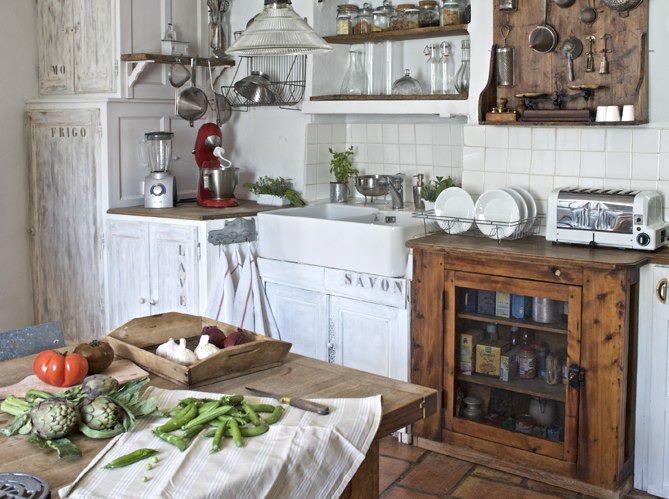 la belleza de las cosas cocinas campestres. Black Bedroom Furniture Sets. Home Design Ideas