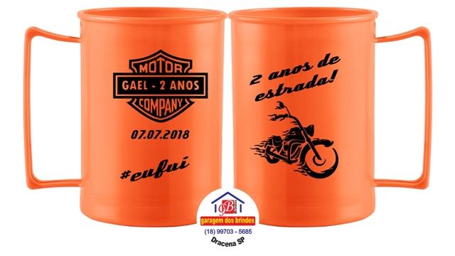 lembrancinha para festa Harley Davidson