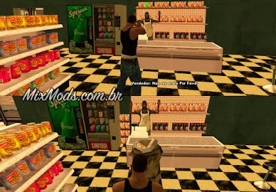 gta sa mod roubar loja mercado entrar interior gta v
