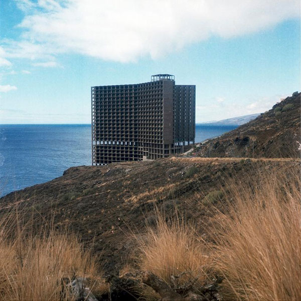 Abandoned Hotel on the Spanish Coast