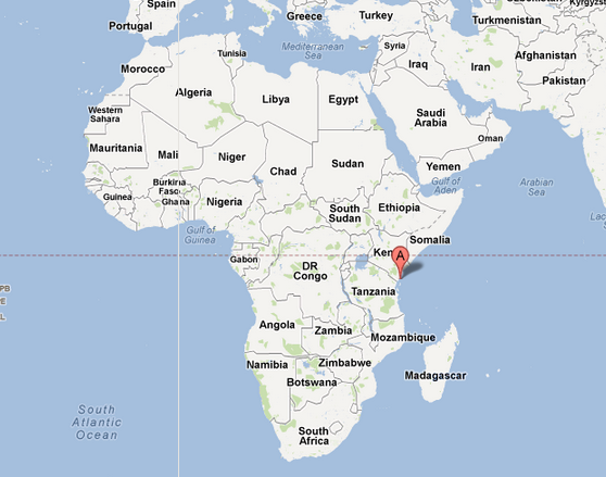 Mombasa Africa Map | autobedrijfmaatje