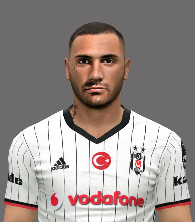 PES 2017  Ricardo Quaresma (Beşiktaş) Face by EmreT