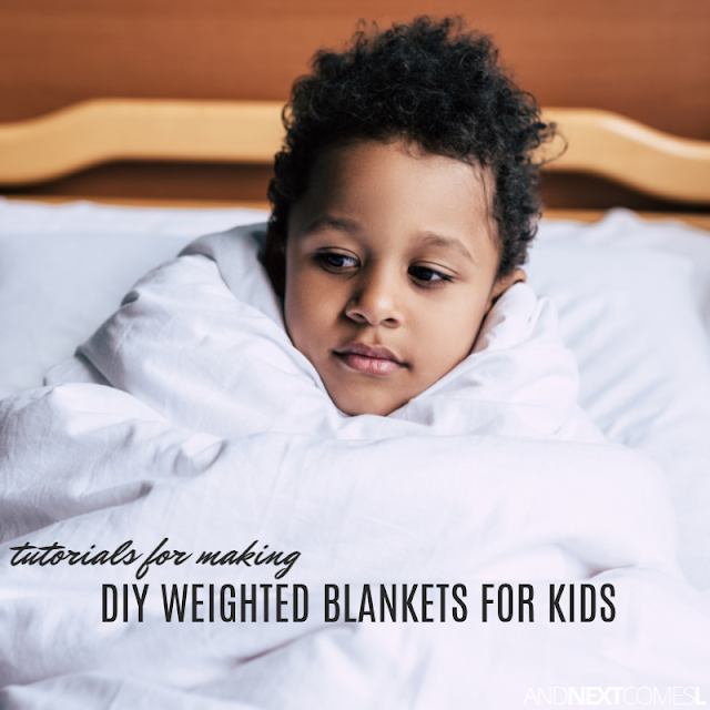 DIY weighted blanket hacks for kids