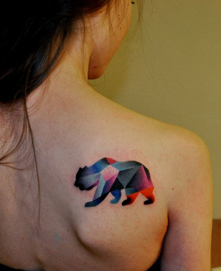 Awesome Bear Tattoo For Animal Lovers