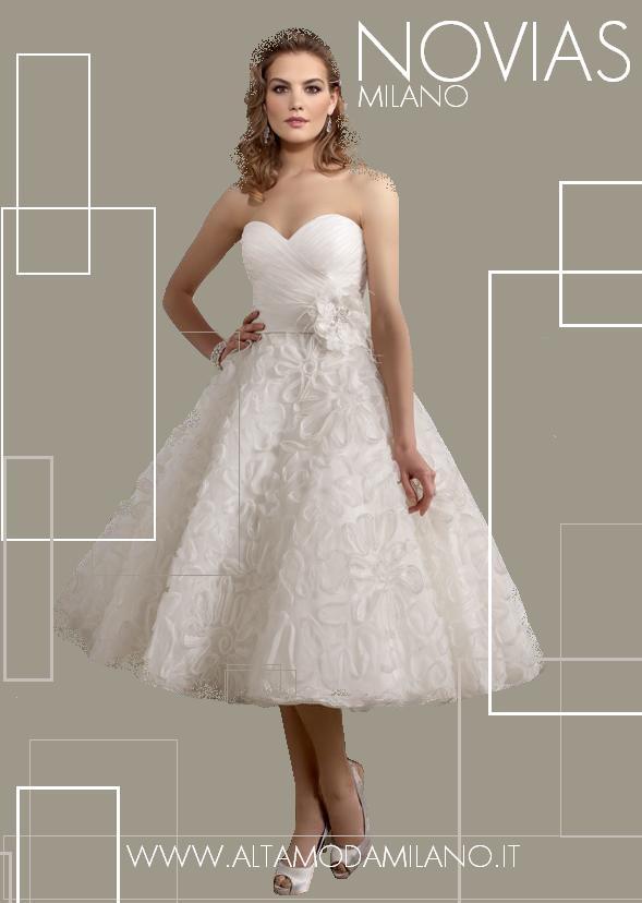 Favoloso PIZZOeCRINOLINE: L'abito da sposa dei tuoi sogni. Parte I: Il corto HL34