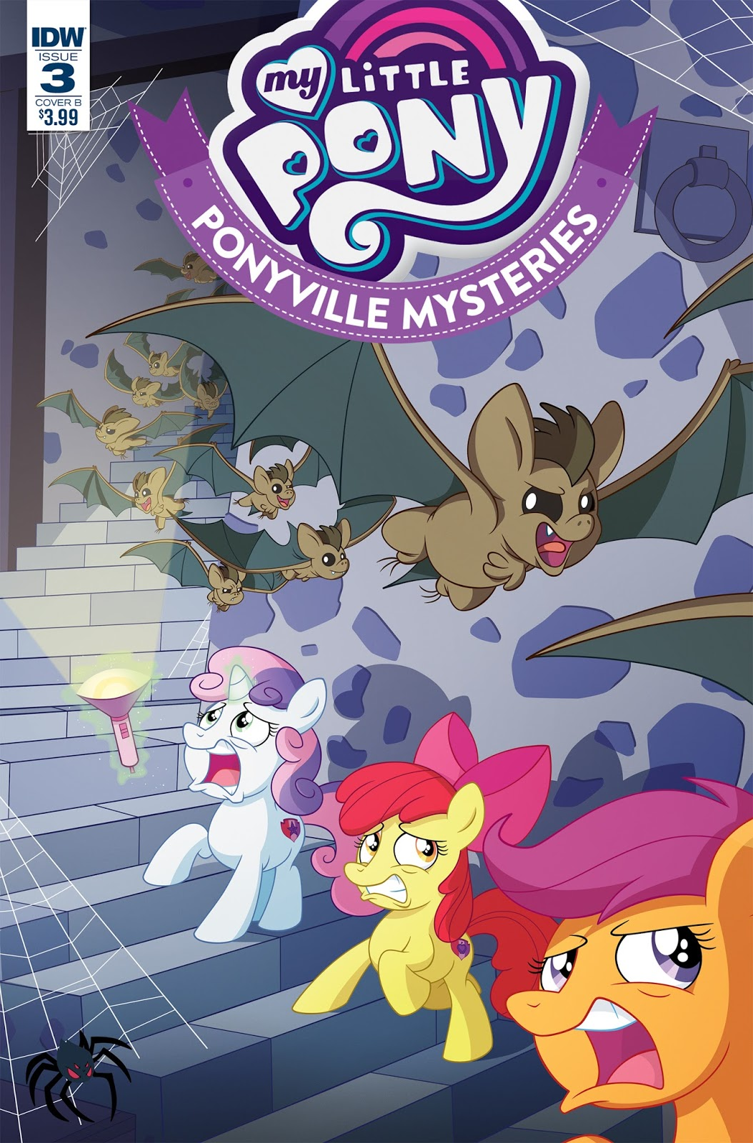 Mlp Ponyville Mysteries Issue Amp 3 Comic Covers Mlp Merch
