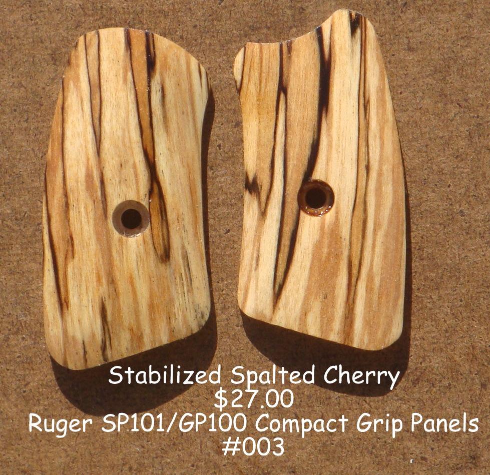 Tim S Workshop Ruger Sp101 Compact Gp100 Grip Panels For
