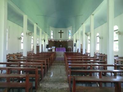 iglesia praslin seychelles