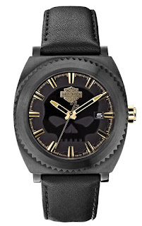 Harley Davidson Men's Bulova Willie G Skull 78B129