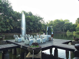 floating pavilion wedding