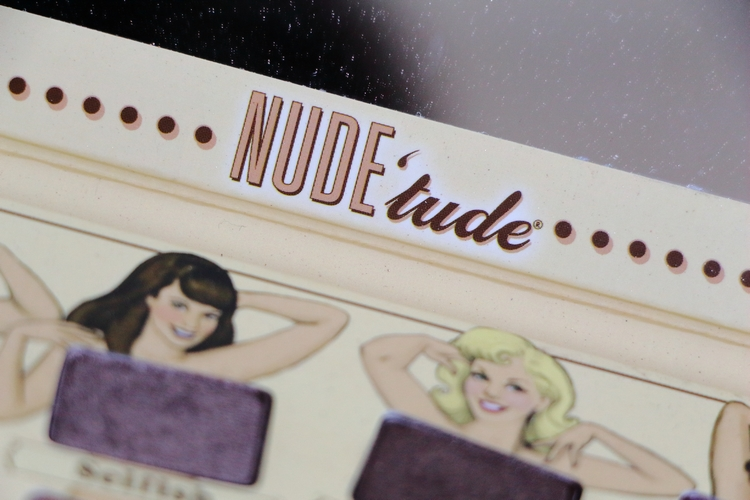 Nude'tude palette The Balm