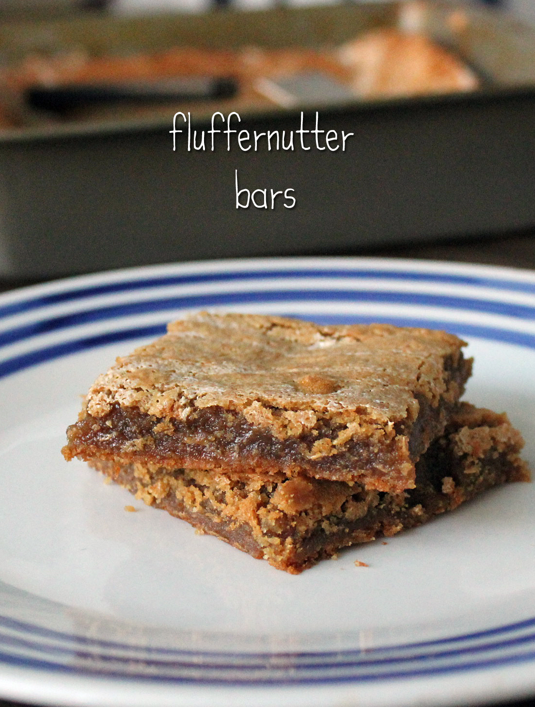Fluffernutter Bars by freshfromthe.com