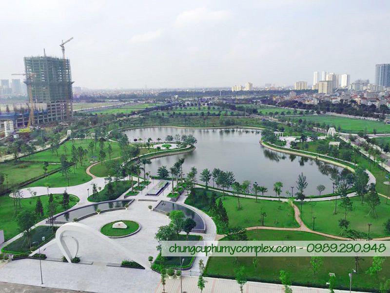 Công viên Đoàn Ngoại Giao - phía sau chung cư N01T4 Ngoại Giao Đoàn