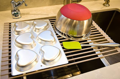 Washbasin Multipurpose Dish Drying Rack