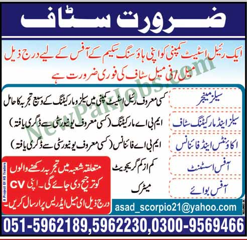 Private-jobs-in-islamabad-2018