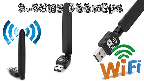 reviw PIX - LINK LV - UW10S WiFi Dongle 2.4GHz 300mbps USB Adapter 12$ 💻📶💻