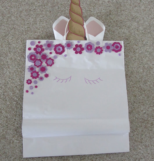 Make your own Unicorn Gift Bag