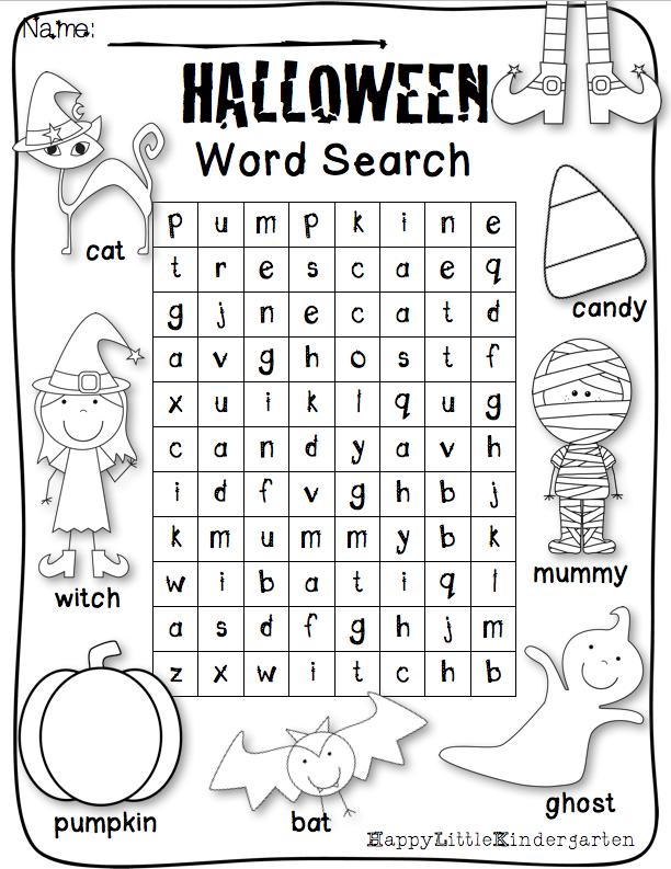 Happy Little Kindergarten: Boo Crew! Halloween Centers for