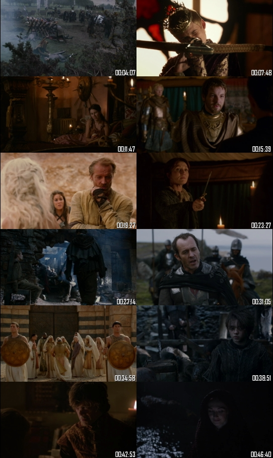 Game of Thrones Season 2 Hindi Complete 720p 480p BluRay All Episodes