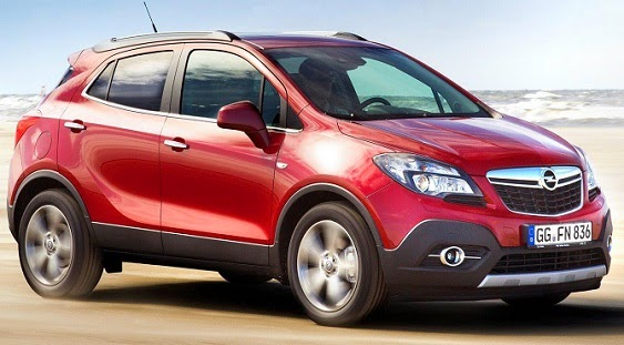 Opel Mokka Resimleri