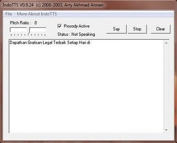 Download Software Perubah Text menjadi Suara