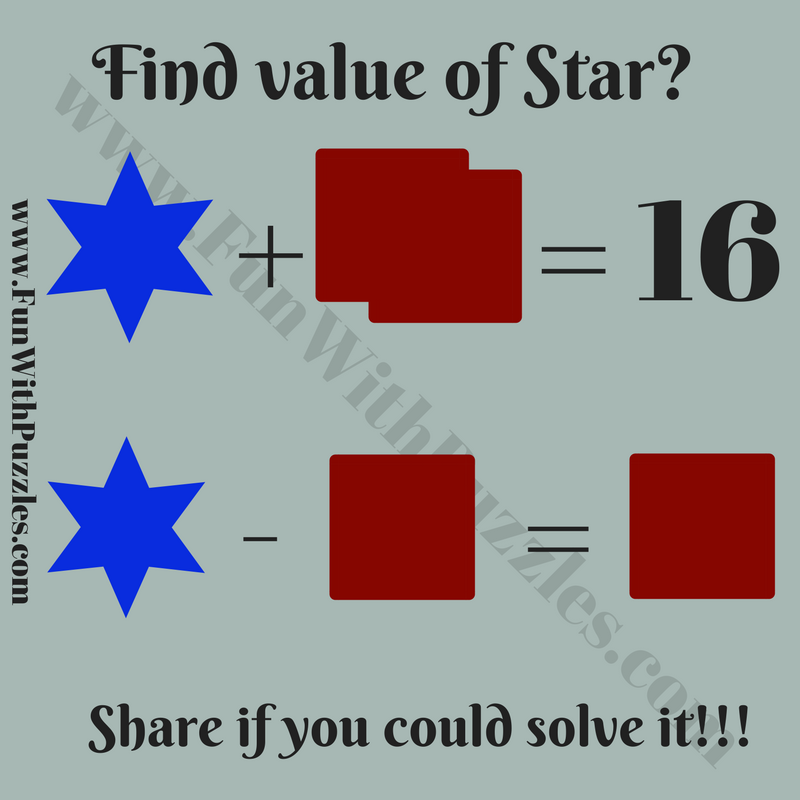 Maths Fun Brain Teaser for Kids with Answer - Fun With Puzzles