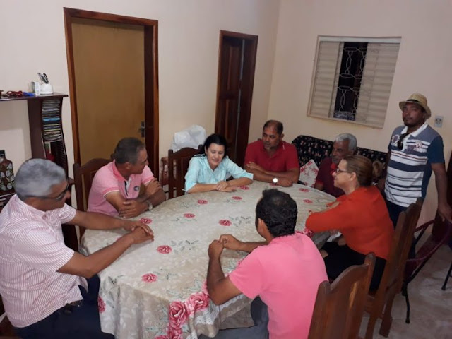 Jusmari recebe apoio de grandes lideranças de Angical e Missão de Aricobé