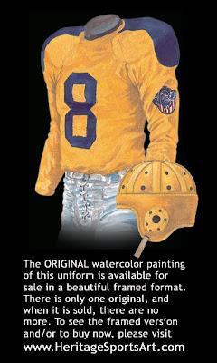 Cleveland Rams 1945 uniform - St. Louis Rams 1945 uniform