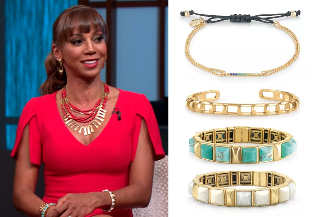 Stella & Dot Bracelets - Holly Robinson Peete on The Steve Harvey Show