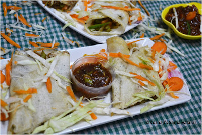 VEGETABLE SPRING ROLL DHOSAI/DOSA - EASY DOSA RECIPES