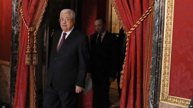 El presidente palestino, Mahmoud Abbas