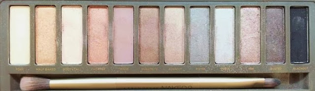 Urban Decay 2 Naked Eyeshadow palette