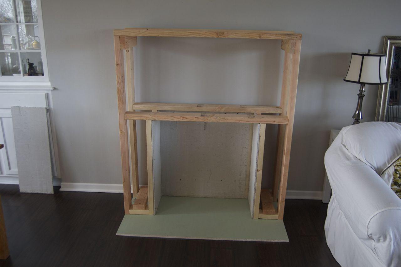 How to build a faux fireplace matsutake