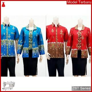 ZBT15109 Kebaya Batik Couple Seragam Kantor Candi BMGShop