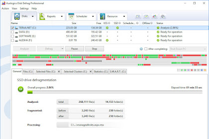 Aplikasi Terbaik Untuk Defrag SSD (Solid State Drive)