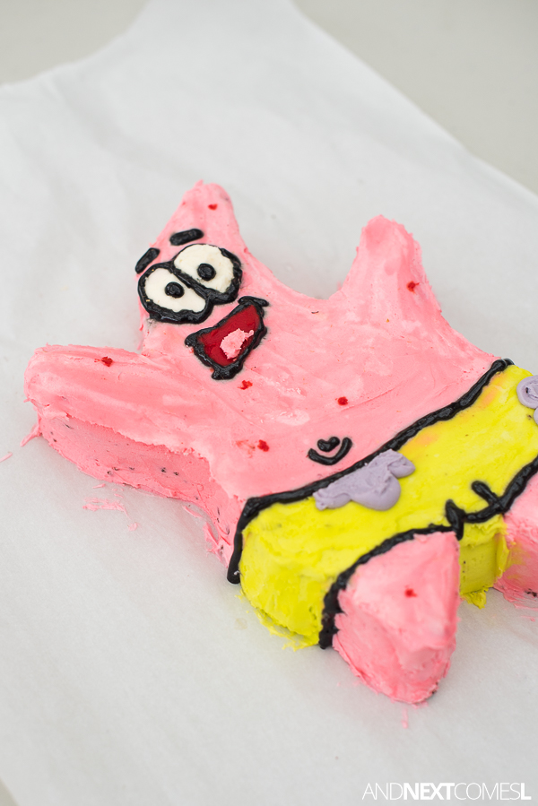 Incredible Patrick From Spongebob Birthday Cake And Next Comes L Funny Birthday Cards Online Alyptdamsfinfo