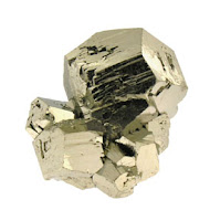 cristal dodecaedrico de pirita - foro de minerales