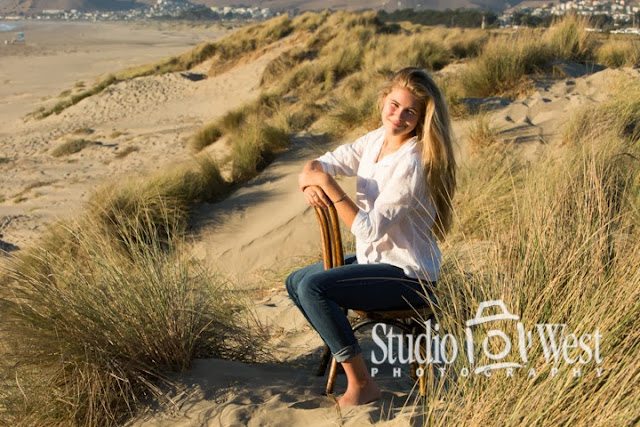 senior high portraits - beach portraits - senior portrait - atascadero - studio 101 west photography