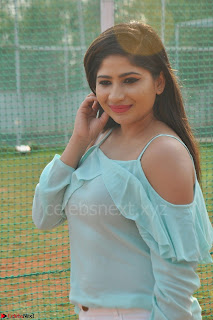 Madhulagna Das looks super cute in White Shorts and Transparent Top 55.JPG